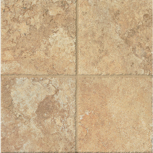 "Forge 6.5"" x 6.5"" Floor & Wall Tile in Gold"
