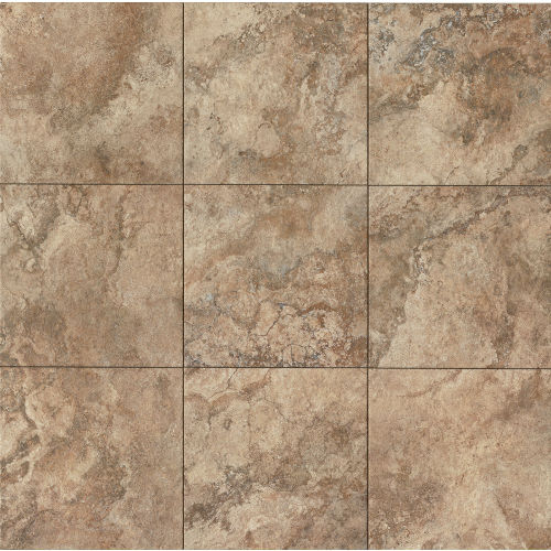 "Forge 20"" x 20"" Floor & Wall Tile in Walnut"