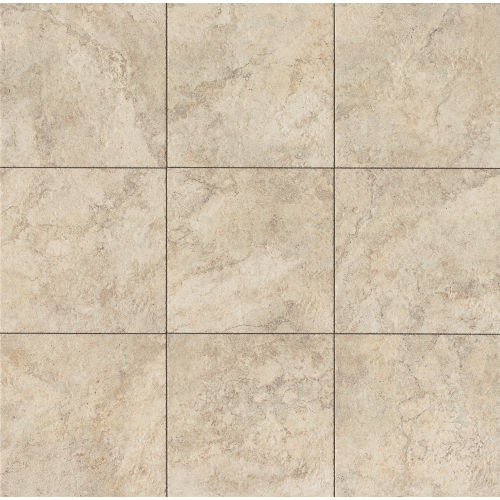 "Forge 20"" x 20"" Floor & Wall Tile in White"