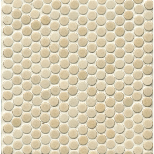 "360 3/4"" x 3/4"" Floor and Wall Mosaic in Beige"