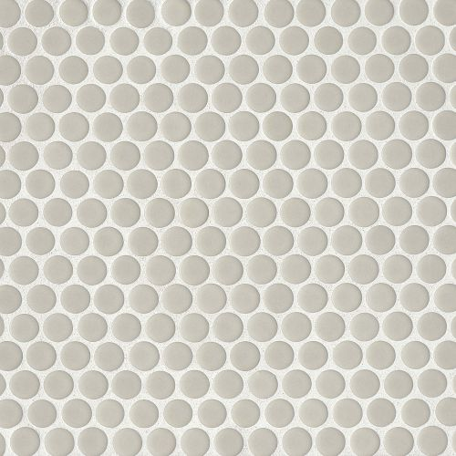 "360 3/4"" x 3/4"" Floor & Wall Mosaic in Off White"