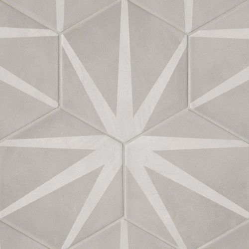 "Allora 8.5"" x 10"" Floor & Wall Tile in Stella"
