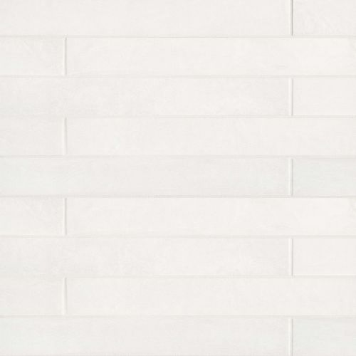 "Allora 3"" x 24"" Floor & Wall Tile in Solid White"