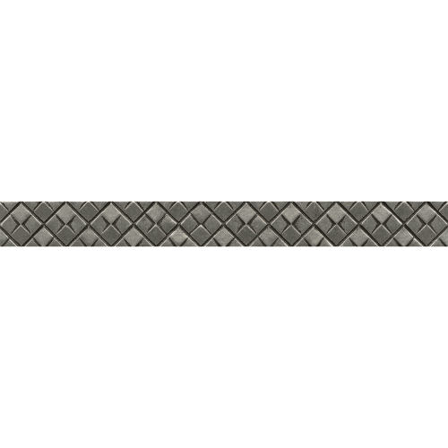 "Ambiance 1.25"" x 12"" Trim in Pewter"