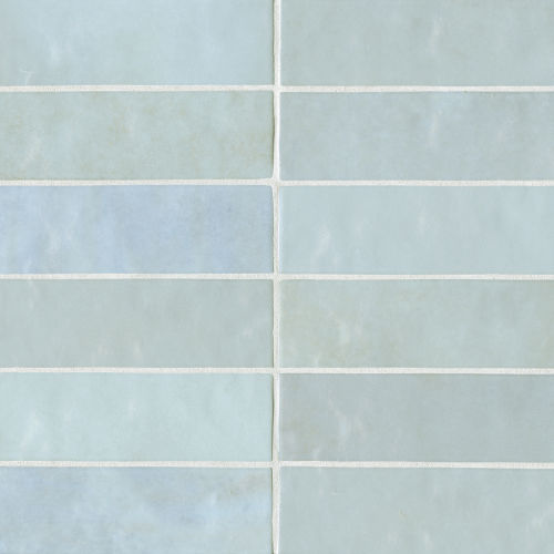 "Cloe 2.5"" x 8"" Wall Tile in Baby Blue"