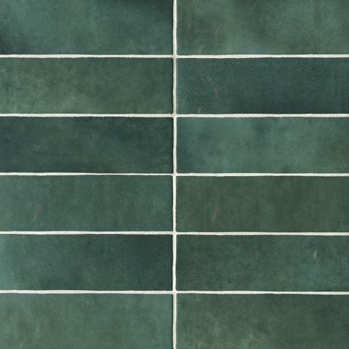 "Cloe 2.5"" x 8"" Wall Tile in Green"