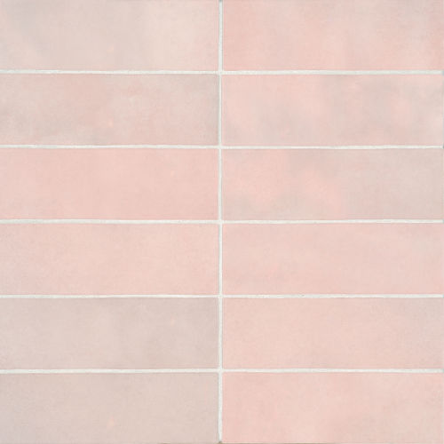 "Cloe 2.5"" x 8"" Wall Tile in Pink"