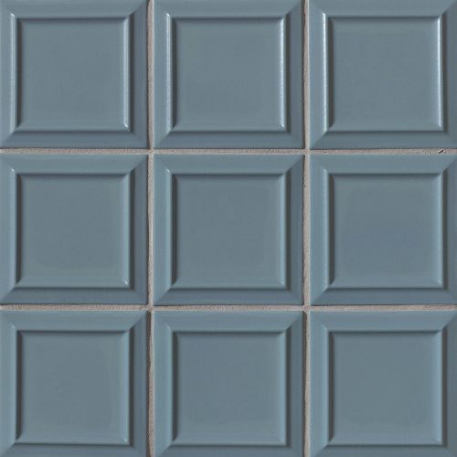 "Costa Allegra 6"" x 6"" x 5/16"" Decorative Tile in Adriatic"