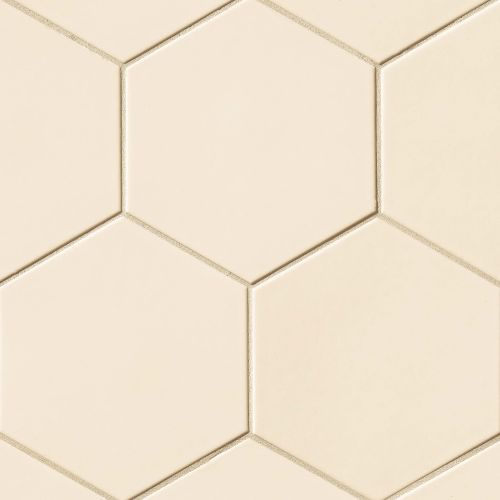 "Costa Allegra 8"" x 8"" Floor & Wall Tile in Alabaster"