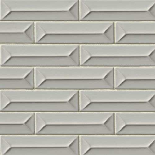 "Costa Allegra 2.5"" x 9"" Decorative Tile in Cinder"