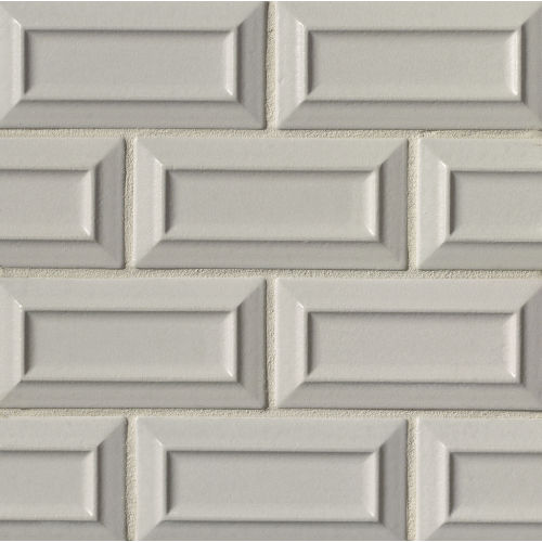 "Costa Allegra 3"" x 6"" Decorative Tile in Cinder"