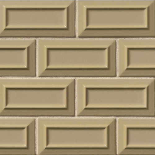 "Costa Allegra 3"" x 6"" x 5/16"" Decorative Tile in Driftwood"