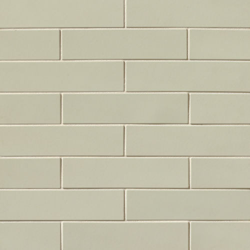 "Costa Allegra 3"" x 12"" x 3/8"" Floor and Wall Tile in Silver Strand"