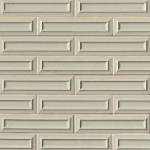 "Costa Allegra 3"" x 12"" Decorative Tile in Silver Strand"