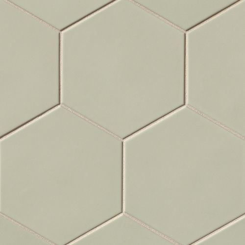"Costa Allegra 8"" x 8"" Floor & Wall Tile in Silver Strand"