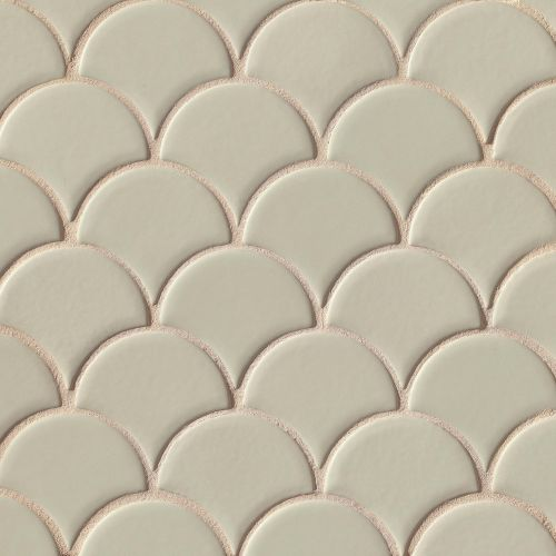 Costa Allegra Floor and Wall Mosaic in Silver Strand