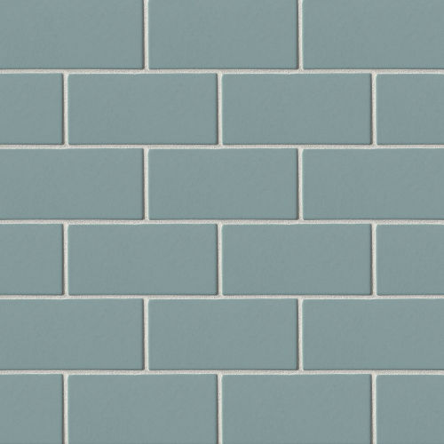 "Costa Allegra 3"" x 6"" x 5/16"" Floor and Wall Tile in Tide"