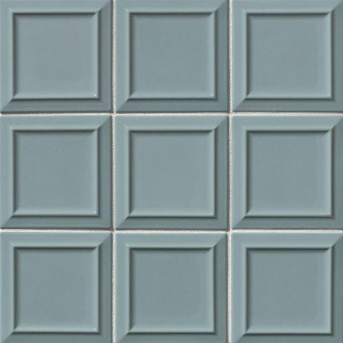 "Costa Allegra 6"" x 6"" x 5/16"" Decorative Tile in Tide"