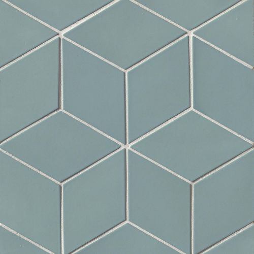 "Costa Allegra 4.5"" x 8"" Floor & Wall Tile in Tide"