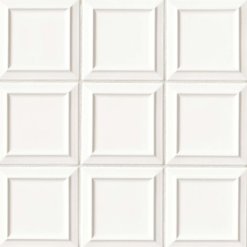 "Costa Allegra 6"" x 6"" Decorative Tile in White Sand"