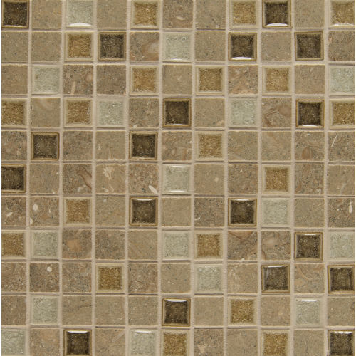 "Kismet 1"" x 1"" Wall Mosaic in Joy"