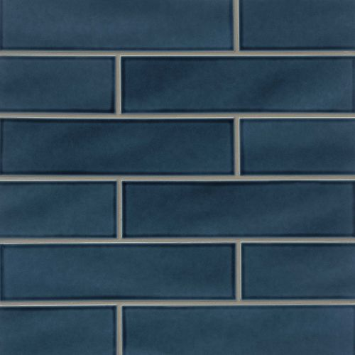 "Provincetown 4"" x 16"" Floor & Wall Tile in Cape Cod Blue"