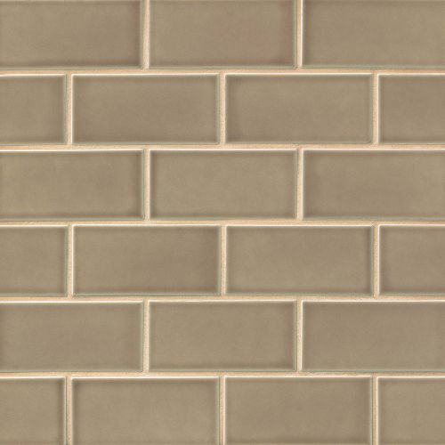 "Provincetown 3"" x 6"" x 3/8"" Floor and Wall Tile in Highland Brown"