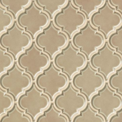 "Provincetown 5-1/8"" x 4-1/16"" Wall Mosaic in Highland Brown"