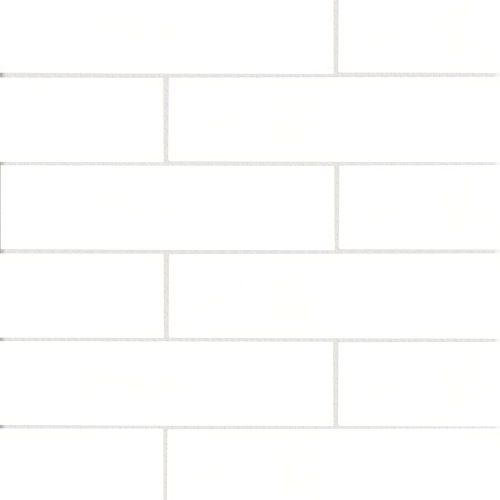 "Provincetown 4"" x 16"" Floor & Wall Tile in Porch White"