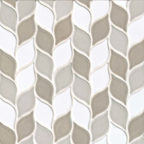 "Provincetown 2-13/16"" x 1-7/16"" Floor and Wall Mosaic in Race Point Blend"