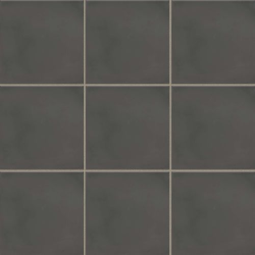 "Remy 8"" x 8"" Floor & Wall Tile in Charcoal"