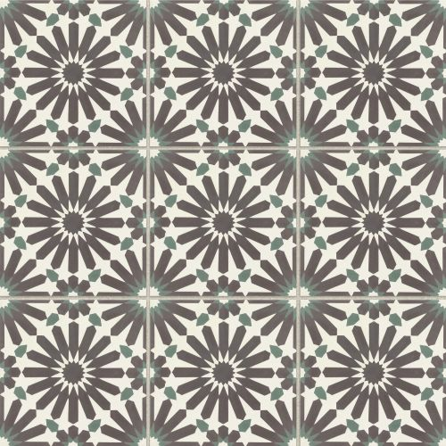 "Remy 8"" x 8"" Floor & Wall Tile in Remix"