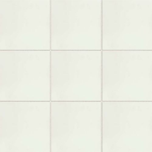 "Remy 8"" x 8"" Floor & Wall Tile in Snow"