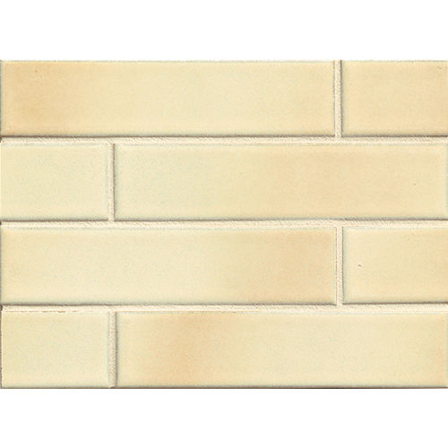 "Shizen 2"" x 8"" Floor & Wall Mosaic in Sand"