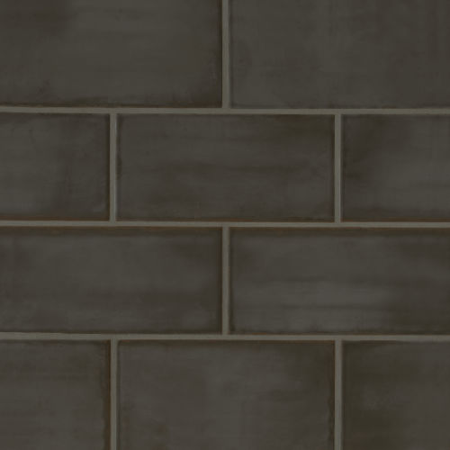 "Chateau 4"" x 8"" x 1/4"" Floor and Wall Tile in Tobacco"