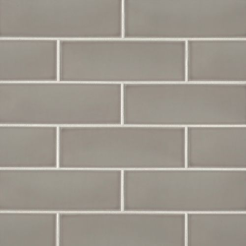 "Grace 4"" x 12"" x 1/4"" Wall Tile in Grigio"