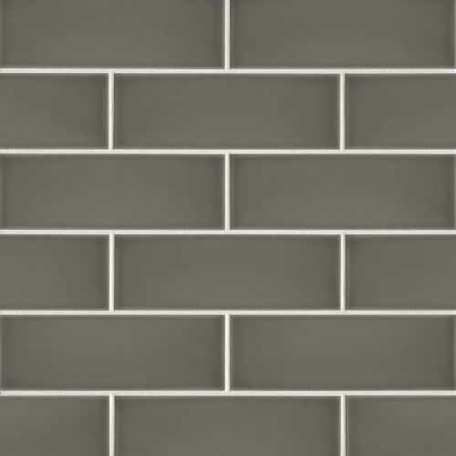 "Grace 4"" x 12"" Wall Tile in Moka"