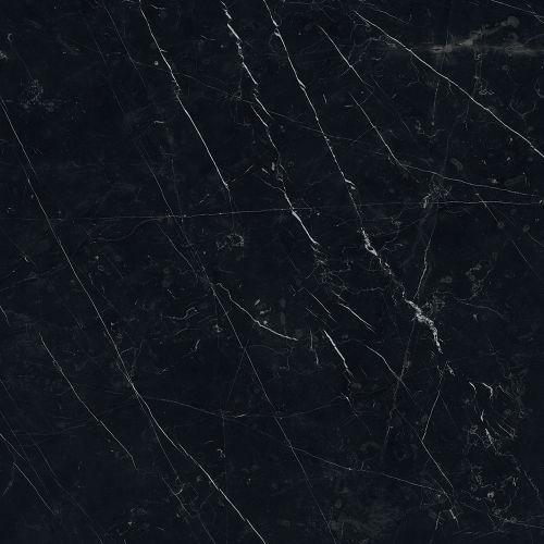 "Magnifica 30"" x 30"" Floor & Wall Tile in Nero Marquina"