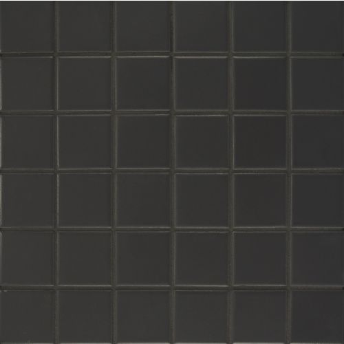 Elements Floor & Wall Mosaic in Anthracite