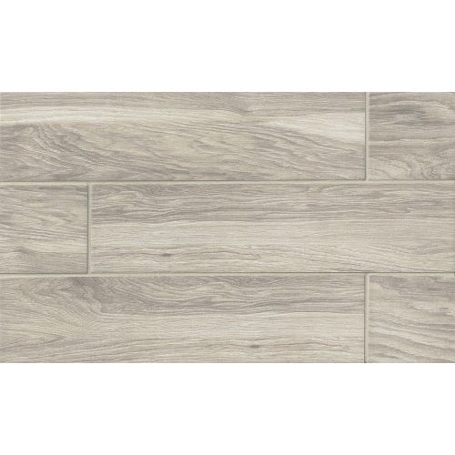 "Napa 6"" x 24"" Floor & Wall Tile in Grey"