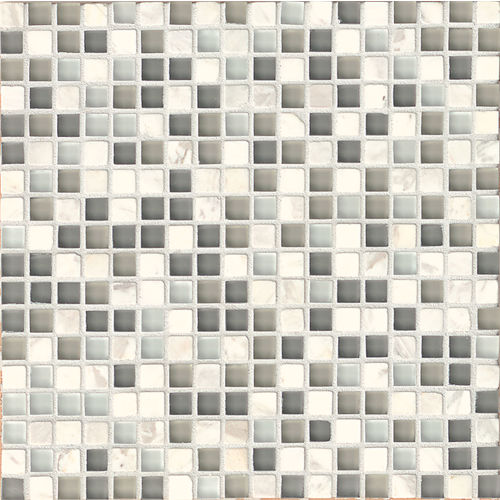 "Eclipse 5/8"" x 5/8"" Wall Mosaic in Eternity"