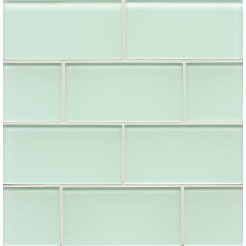"Hamptons 3"" x 6"" Wall Tile in Message in a Bottle"