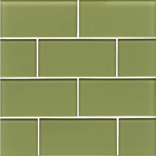 "Hamptons 3"" x 6"" Wall Tile in Reed"