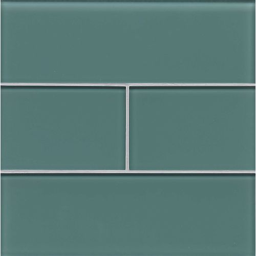 "Hamptons 4"" x 12"" Wall Tile in Wave"