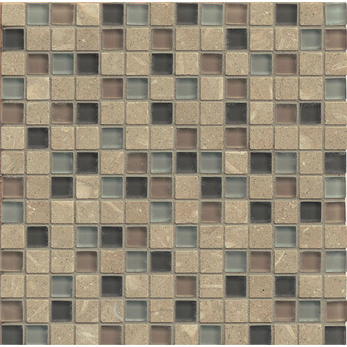 "Interlude 3/4"" x 3/4"" Wall Mosaic in Octave"