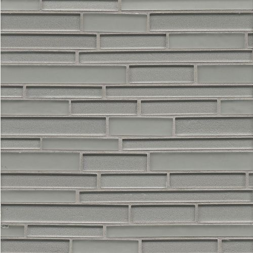 Manhattan Wall Mosaic in Platinum