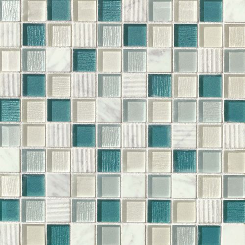 "Verve 1-1/8"" x 1-1/8"" Wall Mosaic in Oomph"