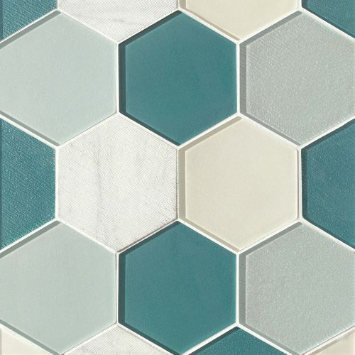 "Verve 4-7/8"" x 5-5/8"" Wall Mosaic in Oomph"