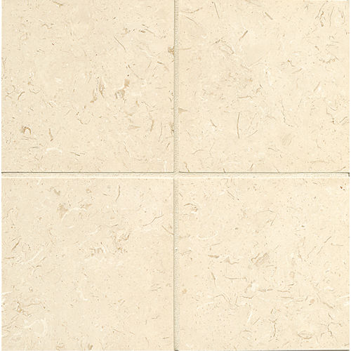 "Corinthian White 6"" x 6"" Floor & Wall Tile"