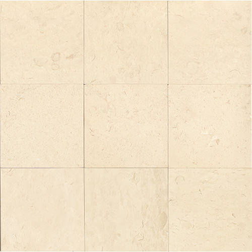 "Corinthian White 18"" x 18"" Floor & Wall Tile"